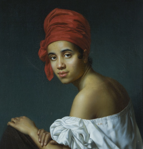 Jacques_Aman_Creole_in_a_Red_Turban