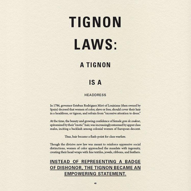Tignon Law
