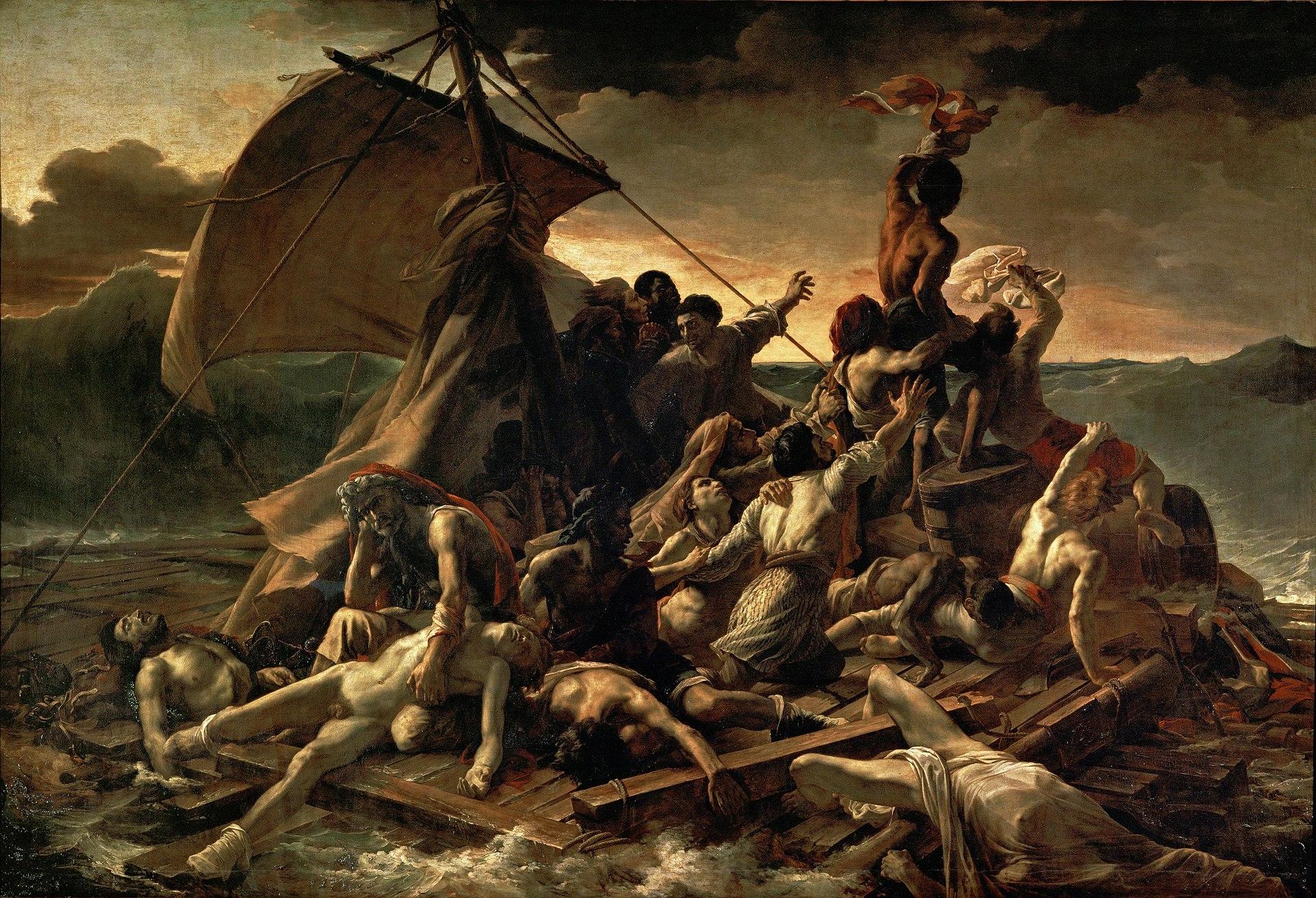 1920px-JEAN_LOUIS_THÉODORE_GÉRICAULT_-_La_Balsa_de_la_Medusa_(Museo_del_Louvre,_1818-19)